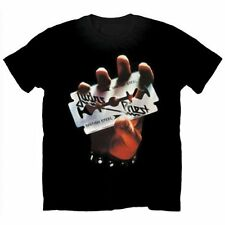 Official T Shirt JUDAS PRIEST Classic BRITISH STEEL All Sizes Metal Rock NEW