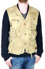 Polo by Ralph Lauren Men's Vest Fishing Hunting Army Military Gilet Jacket