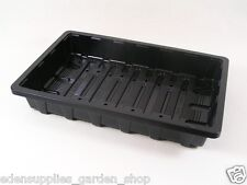 Plastic Seed trays FULL size seed starting trays Black plastic seed plant tray