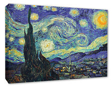 Vincent Van Gogh Starry Night Wall Canvas Print Starry Night Home Decor Picture