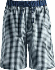 Hanro Night & Day Short Pants, cassic check, woven pants, tailored from cotton