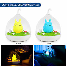 Smart Touch Sensor USB LED Baby Night Light Bedside Bedroom Lamp Rechargeable