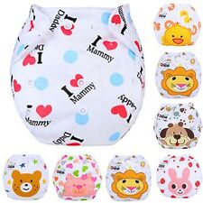 Baby Infant Reusable Washable Cloth Diaper Kids Nappy Cover Adjustable Diapers V