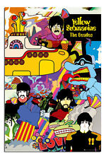 The Beatles Yellow Submarine Poster New - Maxi Size 36 x 24 Inch
