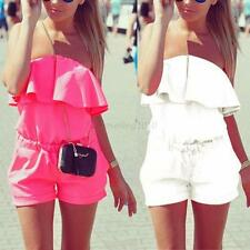 Sexy Women Summer Playsuit Bodycon Jumpsuit Romper Trousers Clubwear Party Beach
