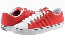 K-Swiss Men's Fashion Sneakers Adcourt CVS Low Red/White Sneakers