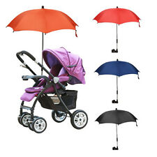 Wheelchair Pushchair Baby Stroller Umbrella Parasol UV Rain Sun Canopy Cover New