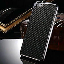 Ultrathin Luxury Carbon Fiber Plated Frame Back Cover Case For Apple iPhone 6/6S