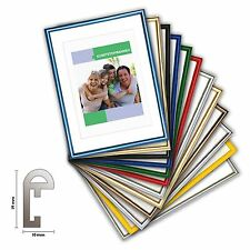 plastic frame CLASSIC, Picture frame plastic 14 Colors, Photo frame Plastic