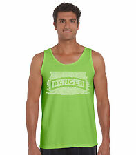 Men's Tank Top - The US Ranger Creed Created using The Ranger Creed