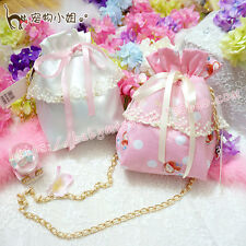 JP Bow Cute Sweet Lolita Kawaii Candy Bag Handbag Cosmetic bag Messenger Bag#111