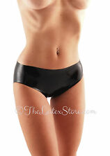 Latex Rubber Panties / BLACK / Rubber / 100