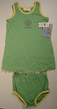 LIFE IS GOOD Daisy Flower Dress Shorts Bottom SET Outfit NWT Girls Size 12 Month
