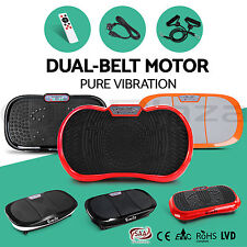 600W Ultra Slim Vibration Machine Plate Platform Exercise Fitness Massage