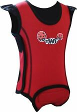 TWF Baby Wrap Wetsuit  -  Lady Bug Red 2016