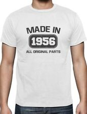 Made in 1956 60th Birthday Gift Idea T-Shirt Funny Present