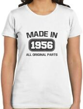 Made in 1956 60th Birthday Gift Idea Women T-Shirt Funny Present