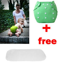 1pcs+1INSERT Baby Reusable Washable Cloth Diapers Kid Adjustable Diapers Nappies