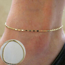 Women Simple Beaded Chain Anklet Ankle Bracelet Barefoot Sexy Foot Jewelry New