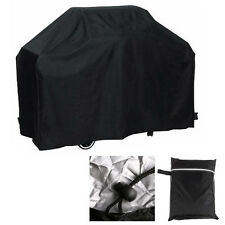 145/170CM BBQ Cover Garden Gas Grill Rain Dust Barbecue Protection Waterproof BK
