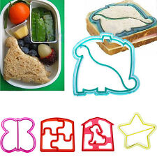New Kids DIY Bread Biscuit Cake Cookies Cutter Mould Sandwich Toast Cutter Mold