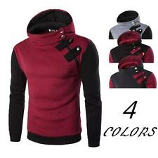 Men's Stylish Slim Fit Hoodie Sweatshirt Zip Hooded Coat Jacket Outwear Sweater