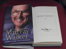 *Signed Edition* MURRAY WALKER 'My Autobiography' HB 1st VGC