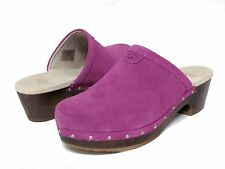 Ugg Australia Girls Evie Clog 3284 Purple Cactus Flower Size 4 Youth