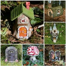 New Fairy Garden Accessories Fairy Door Tree Face Fairy House Garden Ornaments