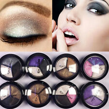 Women Natural Smoky Make Up Eyeshadow Cosmetic 3 Colors/Set Eye Shadow Palette