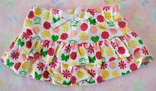 12 24 MONTH SMALL PAUL BY PAUL FRANK BABY GIRLS WHITE FLOWER BUTTERFLY SKIRT NWT