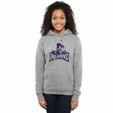 Furman Paladins Women's Classic Primary Pullover Hoodie - Ash - College