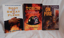 3 Firefighter Novel Series Female Romance Suspense Fiction Julie MacShane