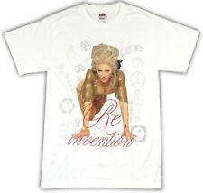 Madonna Re Invention Tour Los Angeles Show 2004 White T Shirt New Official