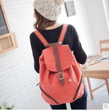 Canvas Korean Fashion Women Shoulder Backpack Leisure Bag Back School Bag 0058