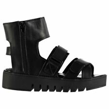 Jeffrey Campbell Womens F1495 Strappy Sandals Summer Casual Leather Shoes