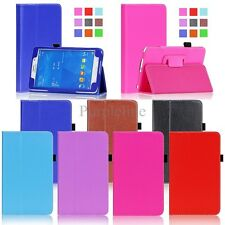 Folio Leather Case Cover Stand For Samsung Galaxy Tab 4 7.0 7 inch Tablet T230