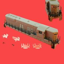 SD-9 UNDECORATED  NON DYNAMIC  COMPLETE SHELL ASSEMBLY KATO  ATLAS  SD9 N SCALE
