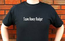 TEAM HONEY BADGER T-SHIRT TEE FUNNY CUTE