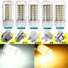 E14 E27 G9 GU10 B22 5W 7W 8W 9W SMD 5730 5630 LED Corn Light Lamp Bulb 110/220V