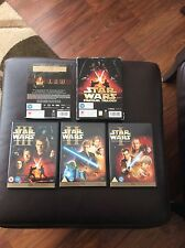 Star Wars The Prequel Trilogy Box Set In Good Condition