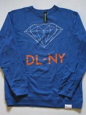 DLNY League NY New York Blue Crew Sweater DIAMOND SUPPLY Co Company XL Crewneck