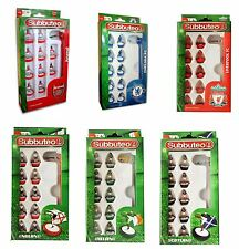 Subbuteo Official Football Club Teams - 11 Players In Each - Pick Your Team NEW