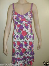 NEW WITH TAG GUESS FLORAL SPAGHETTI STRAP SUMMER DRESS