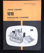 GENUINE JOHN DEERE 1010 CRAWLER LOADER TRACTOR OPERATORS MANUAL SER. #31001 & UP