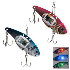 Deepwater Fishing LED Fish Lure Bait Light Flashing Lamp Tackle Hooks Outdoor TO