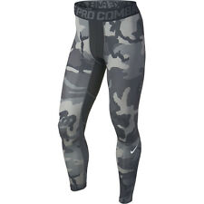 new-nike-pro-combat-mens-hypercool-woodland-compression-tights-gray-camo