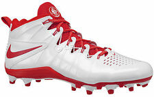 new-nike-huarache-4-lx-mens-lacrosse-cleats-lax-football-white-red