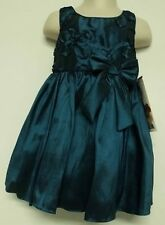 Sweet Heart Rose New Girls Teal Party Pageant Dress Sz 2 5 6 & 6X Retail $68