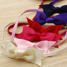 Baby Girl Infant Toddler Headband Hair Bow Ribbon Hair Band Photography Props mh
